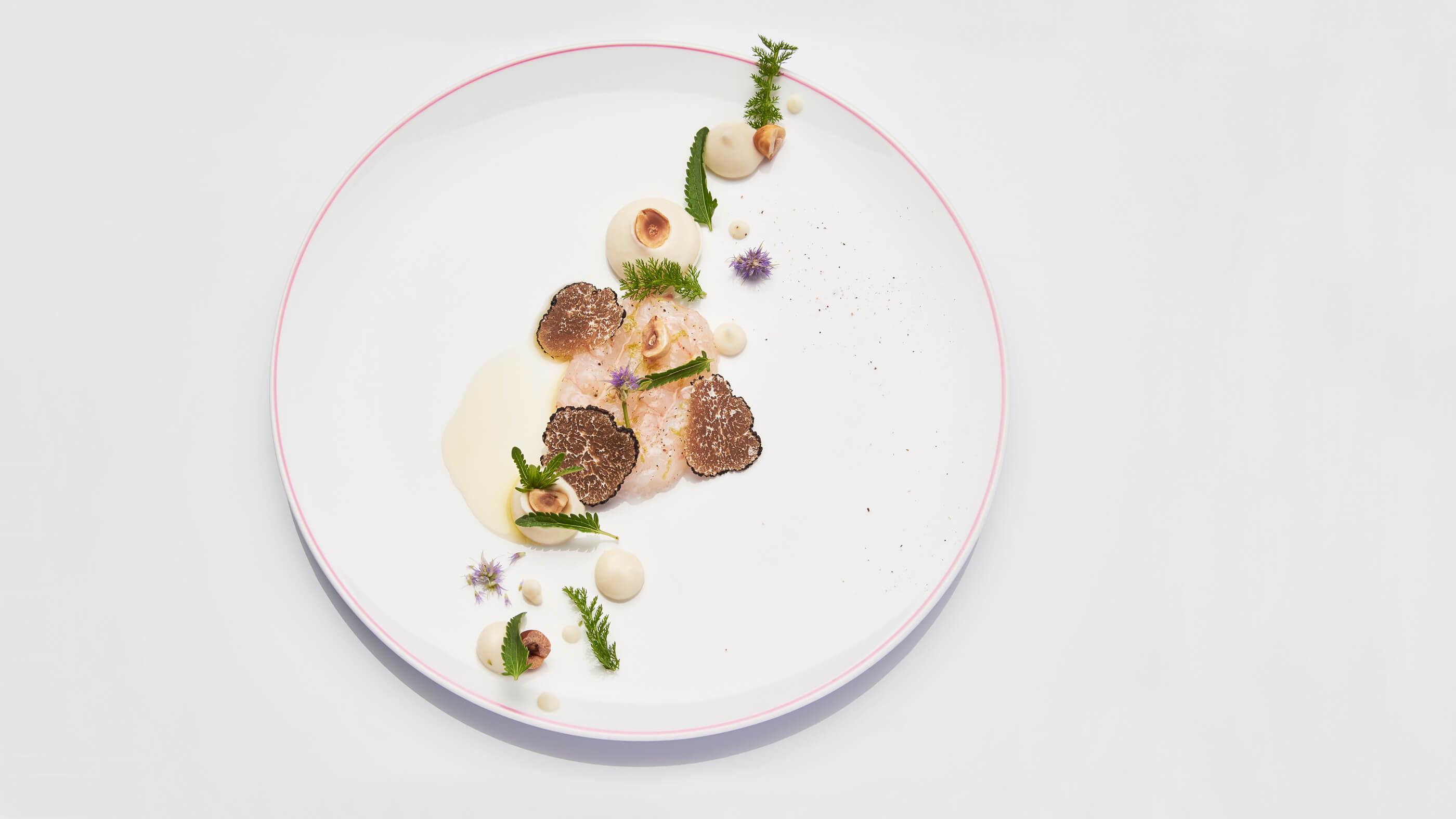 Plat Gastronomique Restaurant Maison Tiegezh Guer